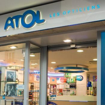 implantation d'Atol dans la galerie Cora de Massy