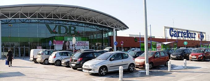 Centre commercial de la ville du bois 91 quadrivium - Zone commerciale nancy ...